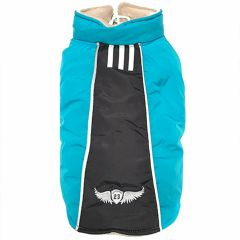 Warm dog jacket Gabriele Blue