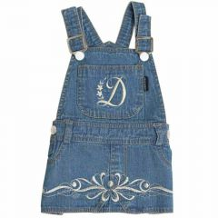 Denim Dress for Dogs by DoggyDolly at Onlinezoo extra cheap
