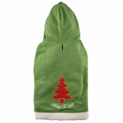 Big Dog Dog Christmas sweater 'Merry Xmas' green for large dogs