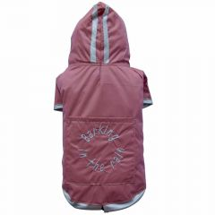 Rose dog raincoat Barking in the Rain from DoggyDolly DR008