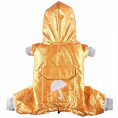 Oranger raincoat for dogs with light padding by DoggyDolly DF013