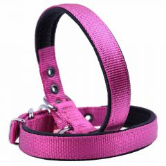 Textile dog collar purple 45 cm by GogiPet ®