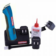 Cordless pet clipper by Heiniger Made in Switzerland