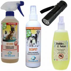 Dog Repellent Spray And Urinde Smell Revmoer Combinatin Package