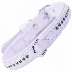 GogiPet® Swarovski Emerald dog collar