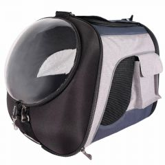 Flight bag - dog bag with large window and backpack L