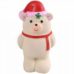 Dog toy - gummy bear with red scarf