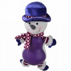 "Dog Toy - snowman ""Frozen"""