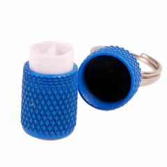 Blue ID tag for dogs and cats