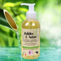 Bubbles & Nature sensitive dog shampoo