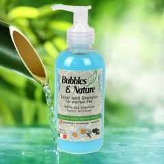 Dog shampoo for white dogs Bubbles & Nature by GogiPet