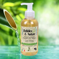 Bubbles & Nature puppies dog shampoo