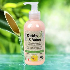 Bubbles & Nature conditioner for long-haired dog breeds against matts and tangles