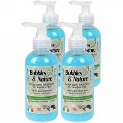Dog shampoo for the dog hairdresser - White dog shampoo