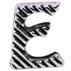 Designer letter E for dog collars and cat collars
