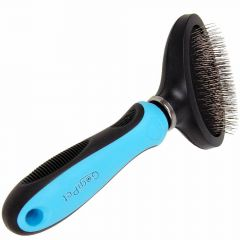 GogiPet ® Premium Slicker Brush Flexi S - dogs and cats brush brush