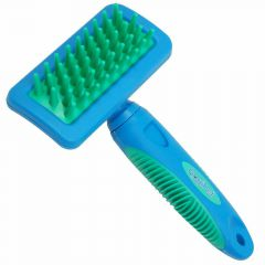 GogiPet bathing gloss and Massage Brush - Long Hair