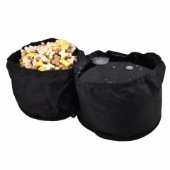 Foldable food bowl and water bowl