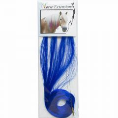 Accesssoires for horses - dark blue hair for horses - horse jewelry of modern hair of the mane of the horse and the horse tail - Hair extension