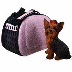 Good dog bag with system in pink recommended by GogiPet