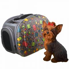 Dog bag with shoulder strap to keep your hands free