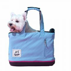 Light dog bag light blue