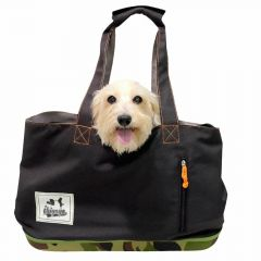 Cool dog bag in Army look