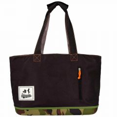 Army dog carrier bag for the stroll
