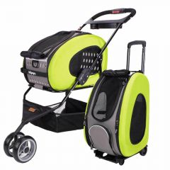 Dog buggy and dog trolley green