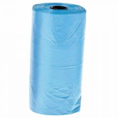 Dog waste bag refills light blue