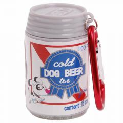 Waste bag holder beverage can - Dog Beer