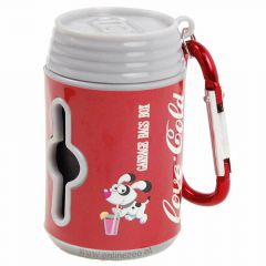 Waste bag holder in Coca Cola desing