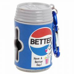 waste bag giver in Pepsi Cola can Design