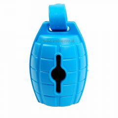 Dog waste bag dispenser blue grenade