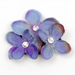 Swarovski Hair Accessories - Flowers with Crystals