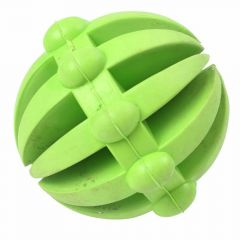 Green Snack rubber ball 7 cm Ø -10 years Onlinezoo dog toy special price