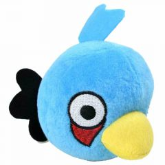 "Angry birds plush dog toy- small blue bird ""Blues"""