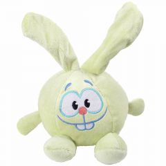 Cuddly toy for dogs green bunny