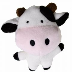 Dog toy plush cow - 10 years onlinezoo special offer