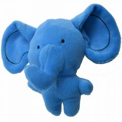 Plush elephant dog toy - special offer 10 years onlinezoo