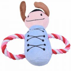 Dental rope doll blue for dogs 10 years Onlinezoo special