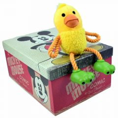 Toy duck for dogs as dog toy