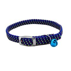 Blue Kitty cat collar from GogiPet