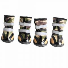 Army dog shoes by GogiPet