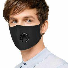 Dog hairdresser breathing mask