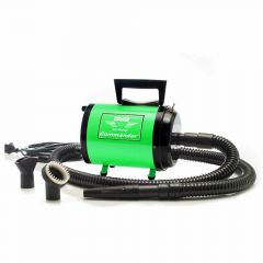 Green dog dryer Metro - Professional blower for groomer