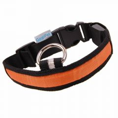 GogiPet ® Blackline Flash Collar Orange XL