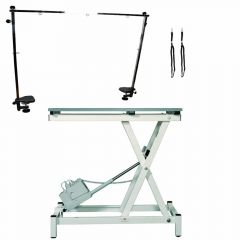 Stabilo Compact groomingtable set with control post