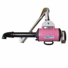 GogiPet dog dryer / Blower Poseidon pink with wall arm