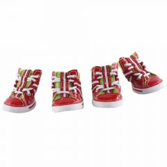 Red White Red dog shoes Austria